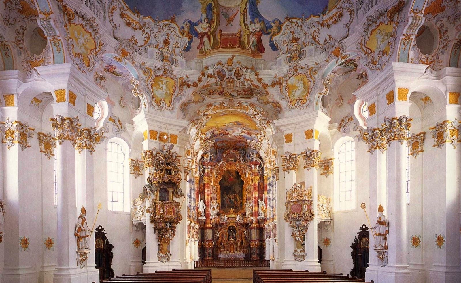 Modern medievalism the splendor of the painted church for Modern baroque art
