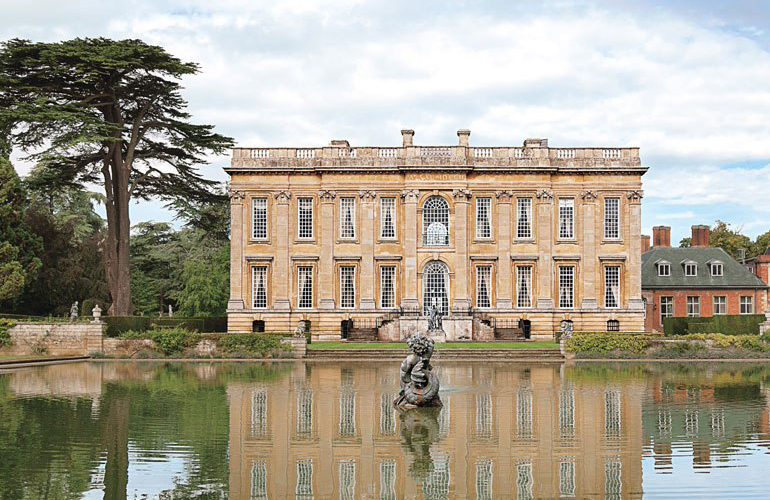 The english baroque reborn easton neston bill lowe gallery for English for architects