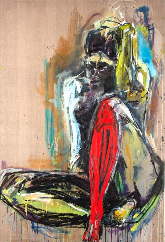 Karen Schwartz - Red Leg