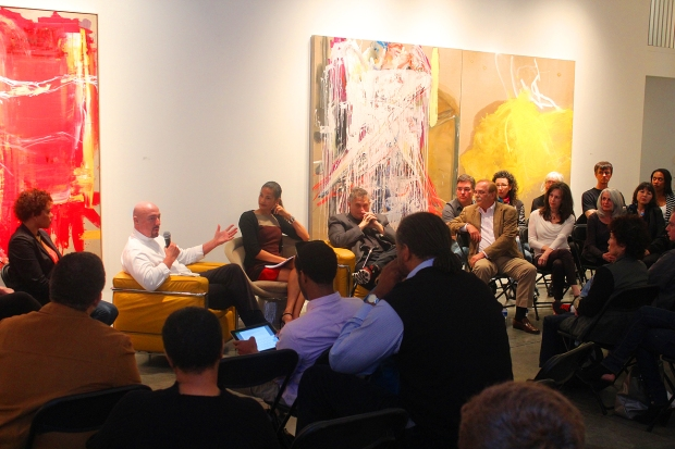 Bill Addressing the Artists of the Fine Arts Atelier